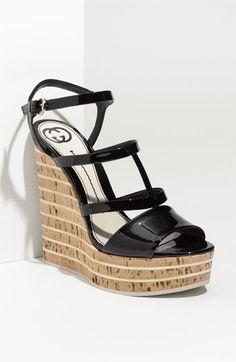 Gucci 'Eilin' Wedge Sandal  $795.00