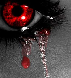Blood tears...A vampire poem