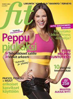 Fit 10/2013 #fitlehti #kansi Bikini Fitness, Bra, Fashion, Moda, Fashion Styles, Bra Tops, Fashion Illustrations, Brassiere