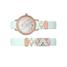Mint & Rose Double Watch. Click to Pic Buy Now.