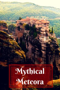 Meteora Greece is a magical place where man has collaborated with nature to create spectacular sights. Visit Meteora yourself and you will see impressive monasteries built by hand perched atop rocky pinnacles. It is truly a magical and awe inspiring place that you will never forget. via @livedreamdiscov