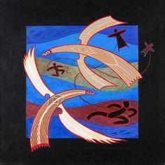 Medium: acrylic on canvas. Size: 20 x 20 inches. Explorers Unit, Maori Art, Year 9, Modernism, Tribal Art, My Arts, Pastel, Symbols, Sun