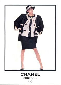 Рекламные кампании Chanel с участием Инес де ля Фрессанж. В 80-х годах она стала первой моделью, подписавшей эксклюзивный контракт с Домом высокой моды Chanel. …