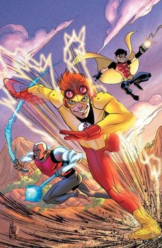 Young Justice And The Teen Titans