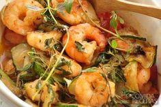 Receita de Camarão à baiana em receitas de crustaceos, veja essa e outras…