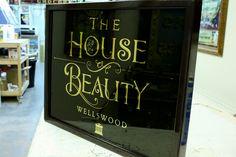 La Casa de la Belleza - Wellswood, Torquay «David Smith - Artista Tradicional Ornamentales de vidrio
