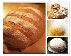 Brood zonder kneden met knapperige korst | Bread without kneading with crispy crust #recept