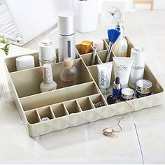 Korean Queen cosmetic storage boxCreative desktop storage boxes stylish storage boxes plastic storage boxA