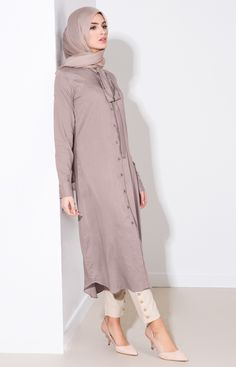 Aab Collection Dusty Pink Slim Tie Midi