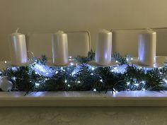 Adventní svícen Christmas Diy, Table Decorations, Holiday Decor, Home Decor, Decoration Home, Room Decor, Home Interior Design, Homemade Christmas, Diy Christmas