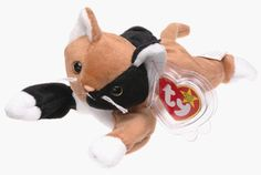 Ty Beanie Babies - Chip the Cat Beanie Babies