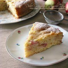 Torta soffice con pesche fresche   ricetta facile