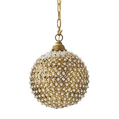Marmont Pendant | Serena & Lily (alternative to disco ball)