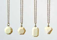 How to Make Dyed Concrete Gemstone Pendants.