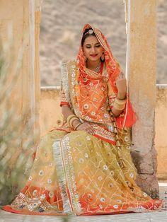 Rajasthani Dress, Rajputi Dress, Hand Work Embroidery, Indian Bridal Fashion, Royal Dresses, Royal Fashion, Wedding Wear, Bridal Style, Fashion Dresses