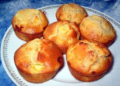 Cinnamon apple muffins with ginger … miamamamamamam by Apple Cinnamon Muffins, Cinnamon Apples, Apple Jam, Muffin Recipes, Bread Baking, Biscuits, Brunch, Food And Drink, Cooking