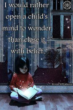 Do you wonder? Or do you believe? FLAT EARTH FUN