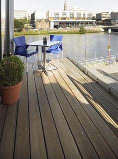 Garapa Hardwood Decking - The Kitchen, Inverness | Pask Architects