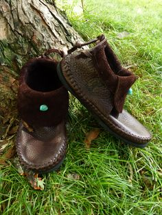 Clean Cut Inca Moccasin Hand Stitched Soft by TreadLightGear, $250.00