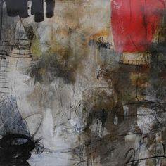 """Sandrine Merrien  """"Trace""""  Techniques mixtes"""
