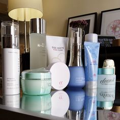 Soko Glam Charlotte Cho's current skincare lineup :) #kbeauty