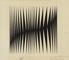 Bridget Riley, Untitled [Study For 'Hero' Series]