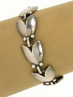 Bracelet | Georg Jensen, sterling silver signed
