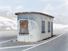 Plumes & Feathers - Europe's abandoned checkpoints - Josef Schultz
