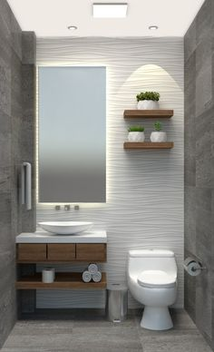 Bathroom Interior has never been so Adorable! Since the beginning of the year many girls were looking for our Unique guide and it is finally got released. Now It Is Time To Take Action! Bathroom Design Luxury, Modern Bathroom Design, Small Bathroom Layout, Small Luxury Bathrooms, Washroom Design, Minimalist Bathroom Design, Colorful Bathroom, Modern Bathroom Sink, Bathroom Design Layout