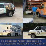What To Consider When Choosing A Vehicle Graphics Company To Work With