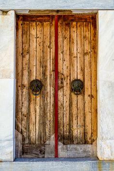 Door, Hydra Island, Greece [+] via Doors