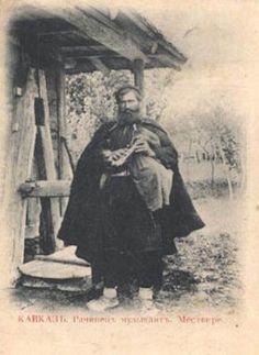 Georgia,   bag-pipe  player
