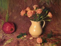 Little Roses & Pomegranate