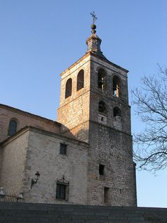 Guadalajara Cogolludo Cathedral tower
