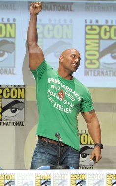 Dwayne Johnson Pictures - Paramount Studios Presentation at Comic-Con - Zimbio