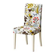 HENRIKSDAL Chaise IKEA Dossier haut et assise rembourrée avec garnissage polyester pour un meilleur confort.