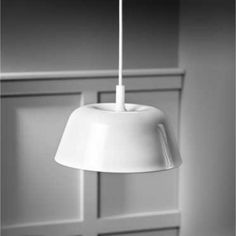 Modische LED Pendelleuchte Amber in Weiß