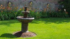 Birdbath fountain