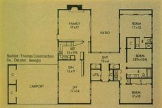 Better Homes & Gardens Homes for all America Plan 3307-A | Flickr - Photo Sharing!