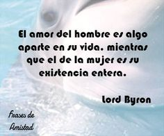 Frases de amor de escritores de Lord Byron