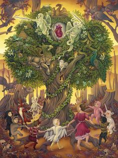 Tree Of Life By Heather Watts