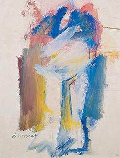 Willem de Kooning, Woman II Springs, 1961 on ArtStack #willem-de-kooning #art