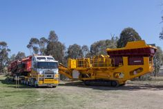 Mobile Crusher and transport http://www.mawsons.com.au/