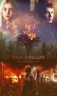"The Hunger Games - Mockingjay - Primrose and Finnick - So sad - I want ""Mockingjay"" now!"