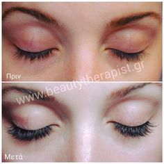 Extensions βλεφαρίδων Beautytherapist.gr!