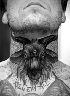 thats one badass throat tat
