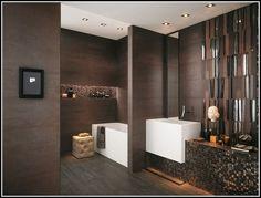 The best set of Gorgeous Brown Bathroom Ideas Brown Bathroom Interior, Dark Brown Bathroom, Bathroom Interior Design, Modern Bathroom, Small Bathroom, Bathroom Wall Decor, Bathroom Colors, Bathroom Styling, Bathroom Ideas