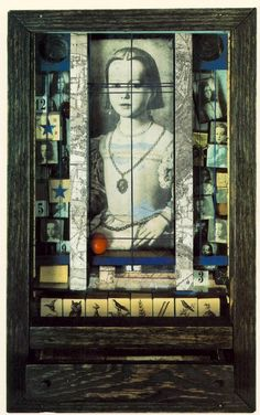 "Joseph Cornell, ""Untitled (Medici princess)"" 1948"