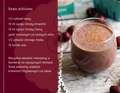 Kawa wiśniowa #kawa #mokka #przepis #napój #kawiarnia
