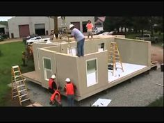 The Future Of Residential Housing - Zero Energy Housing - YouTube